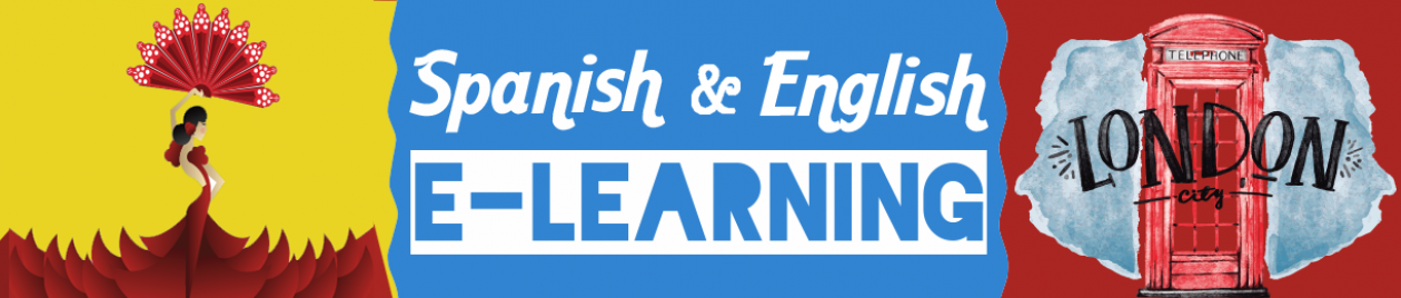 Spanish and English e-learning